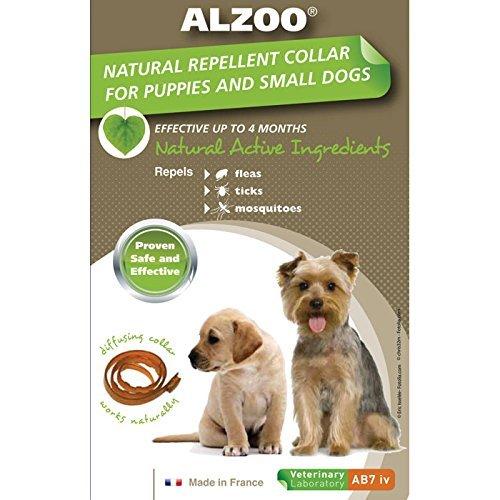 Alzoo Natural Repellent Flea & Tick Collar For Dogs 1 Oz Box 1 Count