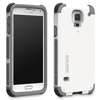 Amazon.com: dualtek – Carcasa para Samsung Galaxy S5, Blanco ...