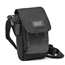 USA Gear Compact Digital Camera Case Bag Pouch for Fujifilm FinePix X-E2 , XP200 , S8400W , F900EXR , X100S & Many More Point and Shoot Digital Cameras - Includes Mini Tripod and Cleaning Cloth