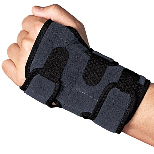 ACE Brand Deluxe Wrist Brace, America's Most Trusted Brand of Braces and Supports, Money Back Satisfaction Guarantee - Ace Brace