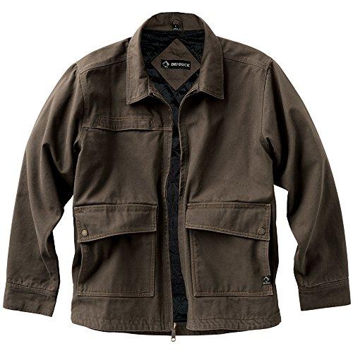 DRI Duck Men's 5069 Flint Jacket, Tobacco, Large