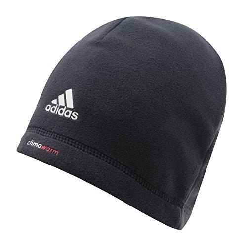 adidas Golf Climawarm Crestable Beanie, Black/Vista Grey -