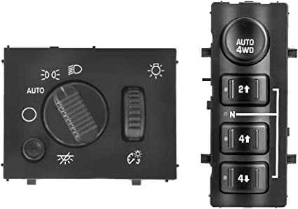 2003-2007 SILVERADO SIERRA HEADLIGHT DIMMER SWITCH CONTROL