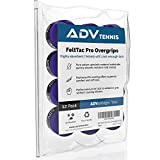 ADV Tennis Dry Overgrip – Remarkably Absorbent – Must Feel Velvety Comfort – Exclusive FeltTac Material