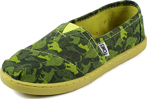 Toms - Youth Classic Slip-On Shoes, Size: 3.5 M US Big Kid,