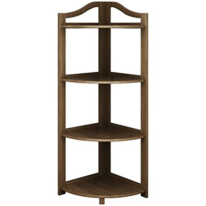 Amazon.com : Bedroom Corner Shelf Living Room Antique Corner ...
