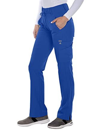 Grey's Anatomy Signature 2218 Modern Fit Olivia Trouser Cargo Scrub Pants by Barco