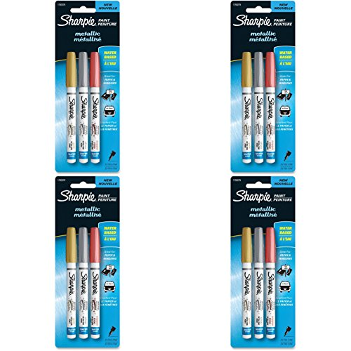 sharpie metallic 4 pack - 9