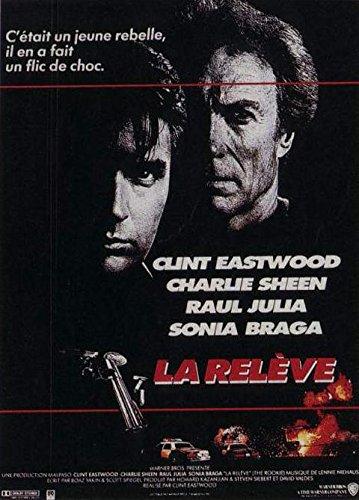 El relevo-Clint Eastwood-116 cm x 158 Cartel Cinema original ...