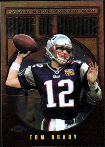 2004 Topps Chrome  Rh38 Tom Brady Ring Of Honor Super Bowl Xxxviii Mvp Patriots