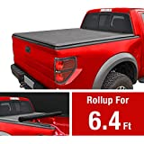 MaxMate Roll Up Truck Bed Tonneau Cover Works with 2019 Ram 1500 New Body Style | Without Ram Box | Fleetside 6.4' Bed