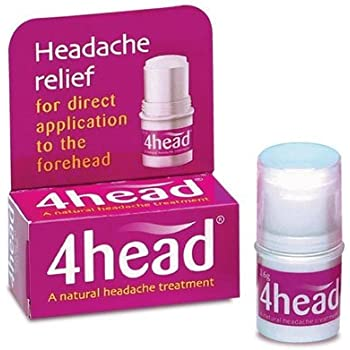 4head Headache & Migraine Relief Stick - 3.6g by 4 Head