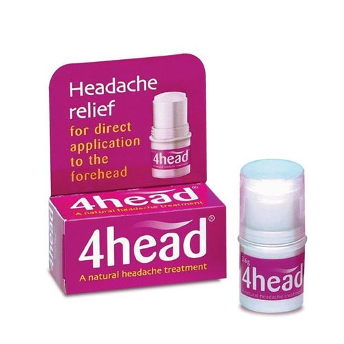 4head Headache & Migraine Relief Stick - 3.6g - Pain Stick