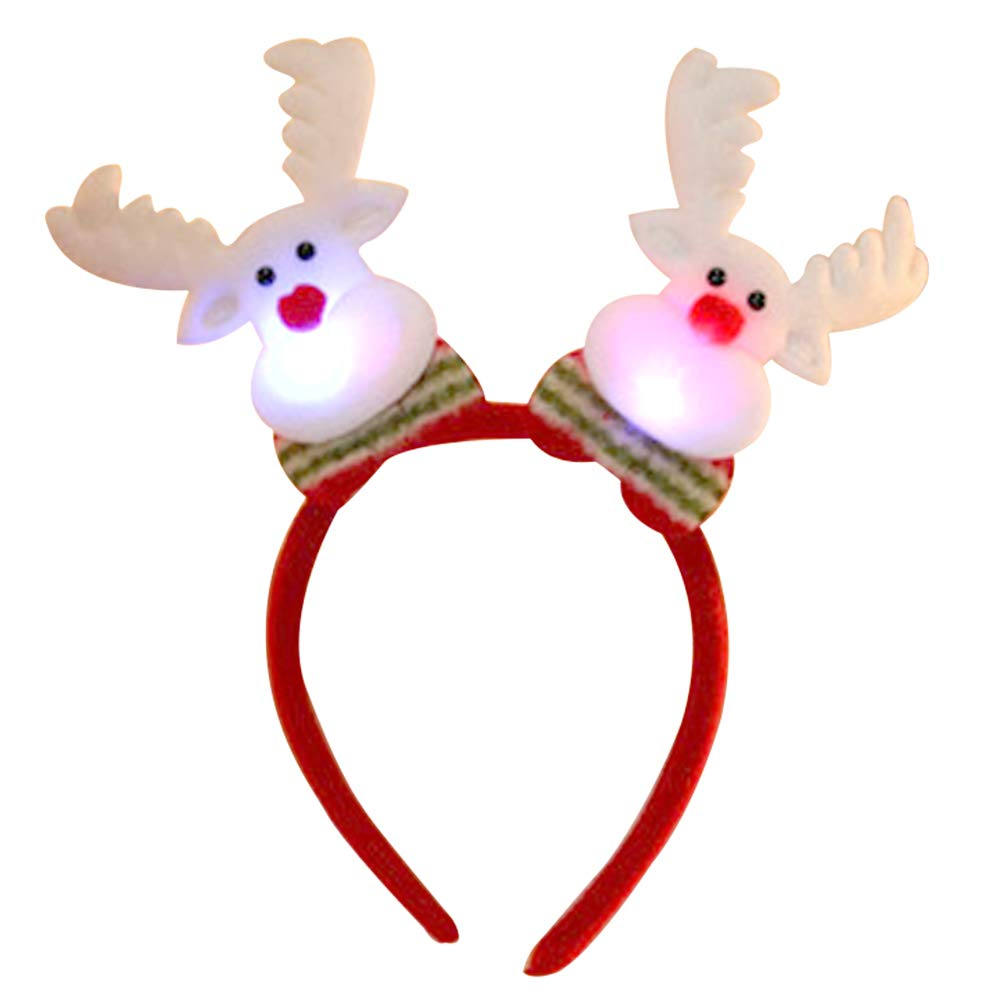 Cute Christmas.Struggge Cute Christmas Headbands For Adult Kids Decorations For Family Party