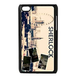 SUPCAS Sherlock Poster series For Ipod Touch 4 Csaes phone Case THQ139902