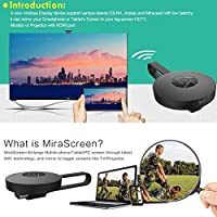 FidgetFidget Digital Media Streamer Dongle for Chromecast 2nd Generation HDMI Video 1080P HD