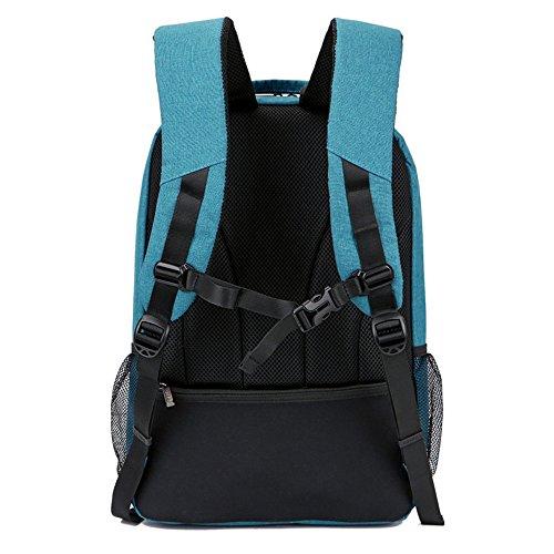 xiaodiu Herren Rucksack New Herren Rucksack Schultasche Herren Casual Backpack 35,6cm 38,1cm 39,6cm blau, 38,1cm
