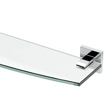 Gatco 4056 Elevate Glass Shelf, Chrome