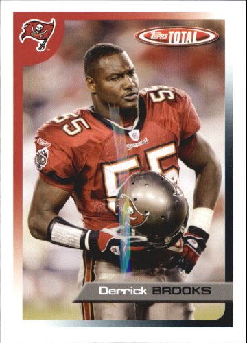 (2005 Topps Total Football Card #240 Derrick Brooks)