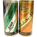 Fabulustre & Zam Buffing Polishing Jewelry Cleaning Compound 4oz Tubes Kit 2 Pcs by FindingKing