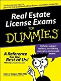 img - for Real Estate License Exams For Dummies (text only) by D. J. A. Yoegel book / textbook / text book