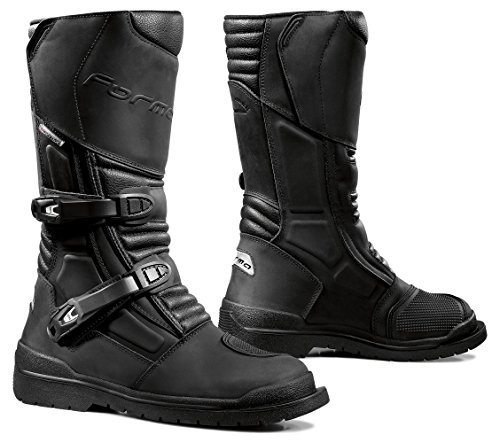 Forma Cape Horn Touring Motorcycle Boots (Black, Size 10 US/Size 44 Euro)