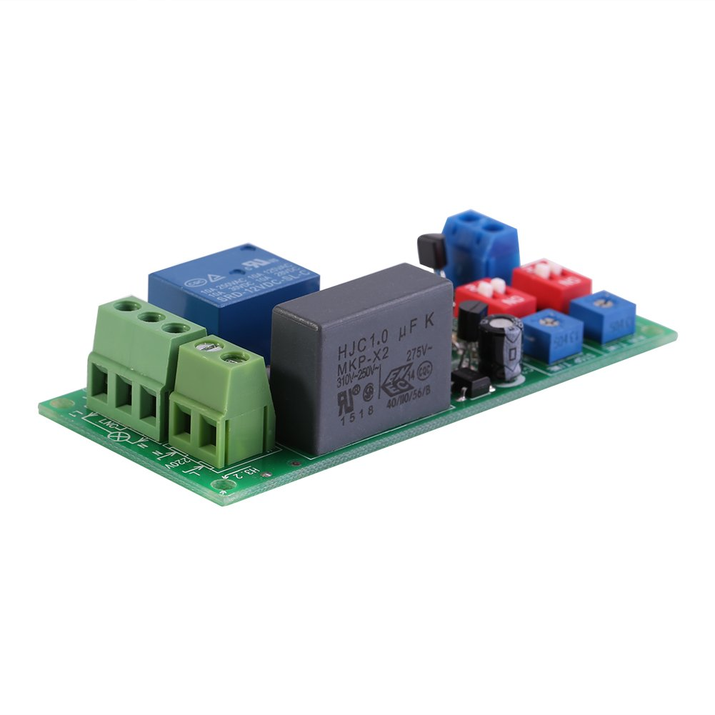 Ac100v250v Infinite Cycle Delay Timer Timing Switch Relay Turn On Electrical India Off Module 05s 1000min Adjustable Business Industry Science