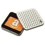 Amazon.ca $500 Gift Card in a Diamond Plate Tin (Amazon Icons Card Design)