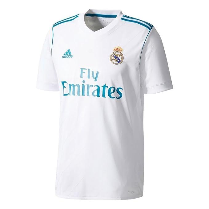 829a7ccba Amazon.com  adidas Men s 2017   2018 Real Madrid Ronaldo Home Jersey   Clothing