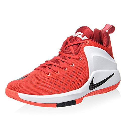 the latest 48bb3 63fb6 Galleon - NIKE Men s Lebron Zoom Witness Basketball Shoes (12 M US, University  Red White Bright Crimson Black)