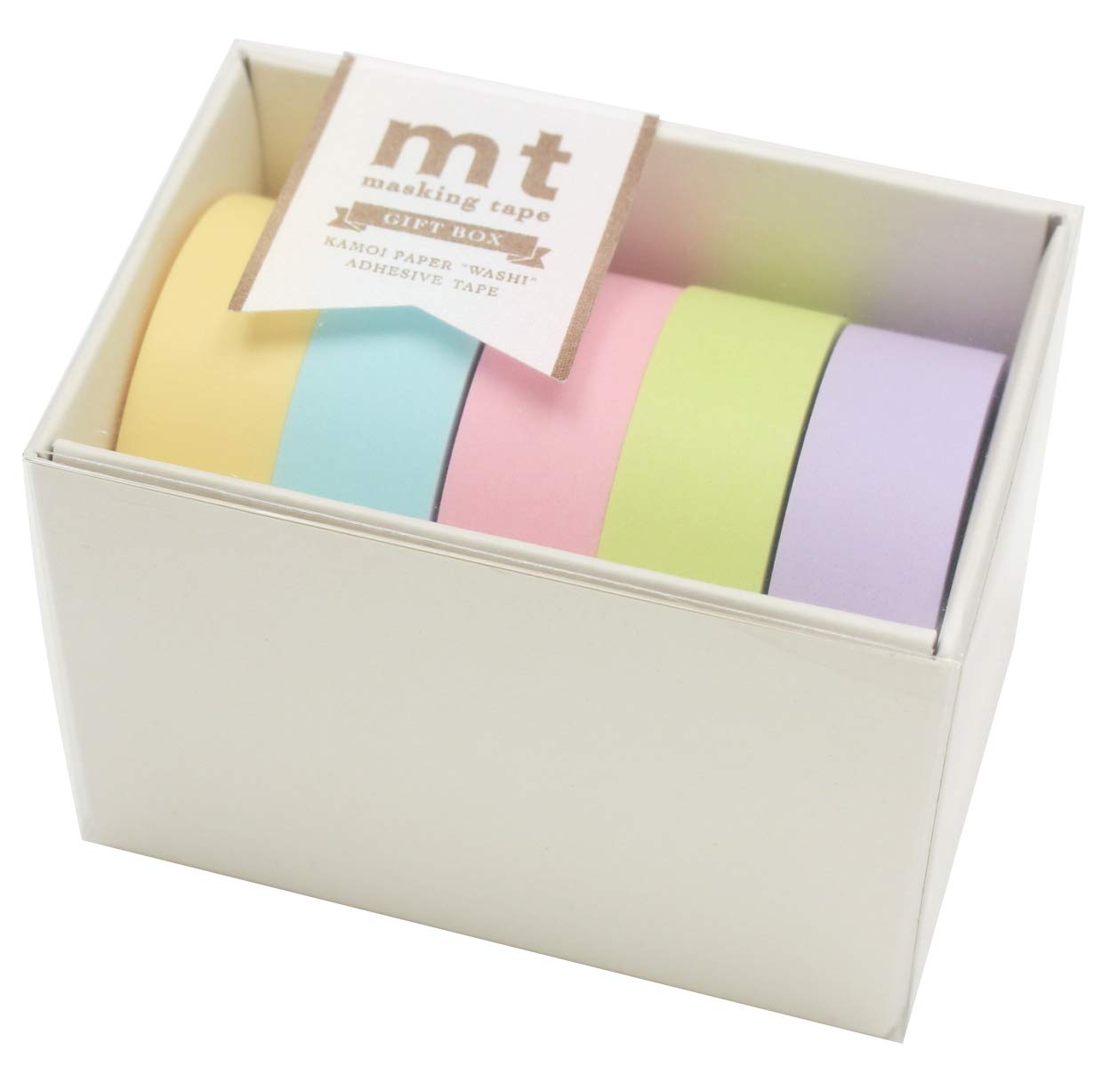 MT Japanese Washi Masking Tape Gift box pastel 2 Tape Set MT05G007