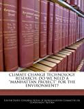 Climate Change Technology Research, , 1240512325