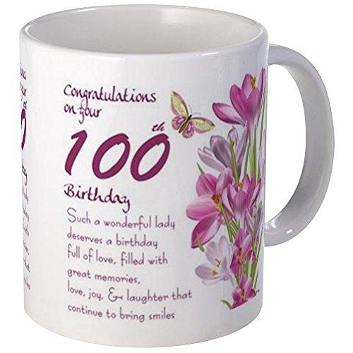 - CafePress 100Th Birthday Crocus Gift Mug Mugs Unique Coffee Mug, Coffee Cup