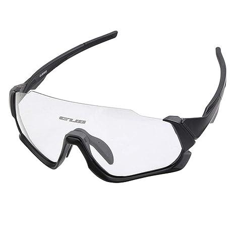 Hamkaw - Gafas de Sol para Ciclismo Inteligentes, Lentes ...