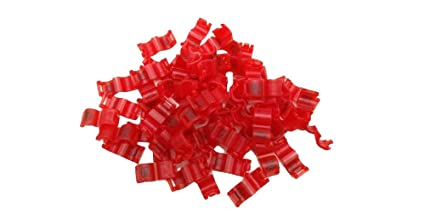 howellsfarm 2 7/3/4/4 5/5 mm Birds Leg Clips Pigeon Rings Bands with Number  Plastic 20 pcs