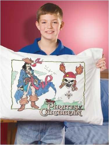 Janlynn Disney(R) Pillowcase Art Kit-Captain Jack Sparrow
