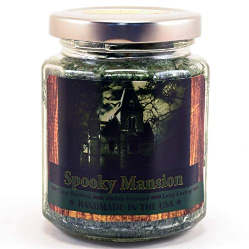 Spooky Mansion, Super Scented Natural Wax Candle (8