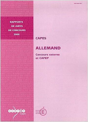 Télécharger en ligne CAPES allemand : Concours externe et CAFEP pdf, epub ebook