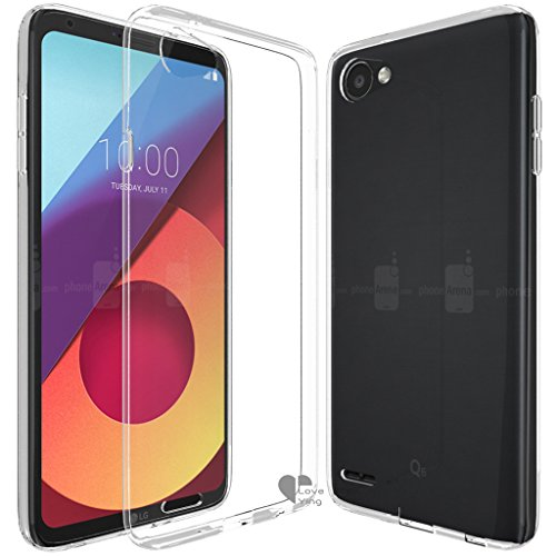LG Q6 case,Love Ying [Crystal Clear] Ultra[Slim...