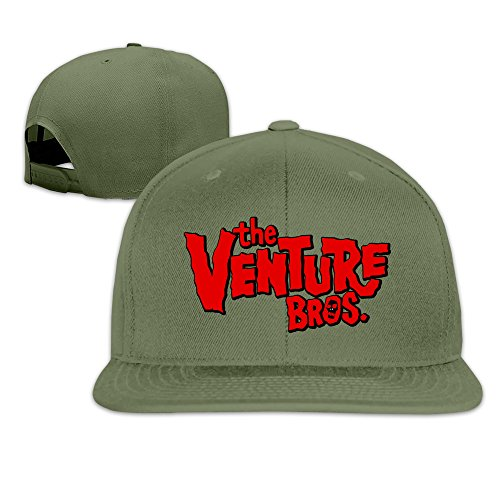 Unisex The Venture Bros Logo Adjustable Snapback Baseball Caps 100%cotton ForestGreen One - Baseball Cap Ford Tom