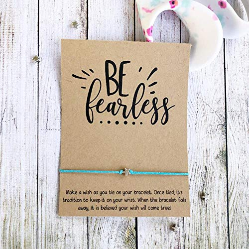 Women Empowerment Girl Boss Best Boss Feminist Female Empowerment Boss Leaving Gift,Boss Goodbye Gift Wish Bracelet Favor Boss Babe