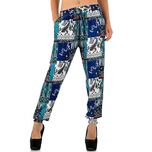 iTaL-dESiGn - Pantalón - chino - para mujer Azul
