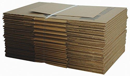 Lepage 's USPS mudanza y almacenamiento caja de cartón, 12x 12x 6inches, café, Paquete de 12(81551–12)
