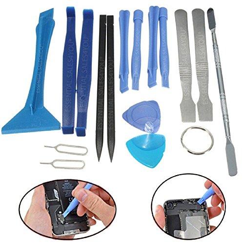 ESSENTIAL SALES4YOU® : 17 pcs pieces Precision Repair Set Tools Kit Metal (Metal Tool Kit)