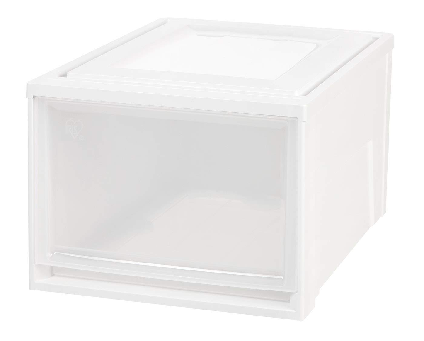 Amazon.com: IRIS Caja profunda cajón de pecho, color blanco ...