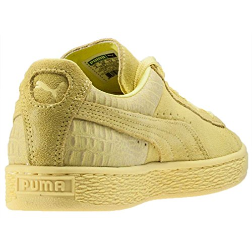 PumaSuede Classic Emboss - Sandalias con cuña mujer