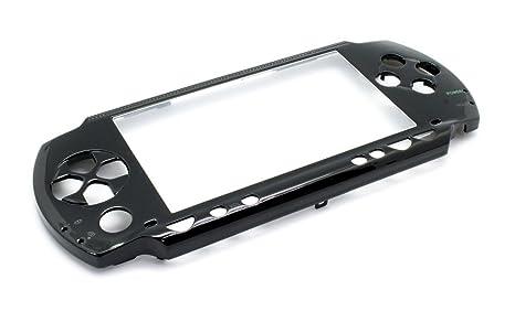 CARCASA FRONTAL PSP fat NEGRA: Amazon.es: Electrónica