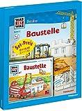 WAS IST WAS Junior Geschenkset: Baustelle: Bilderbuch mit Spielen, Rätseln + Hörspiel-CD