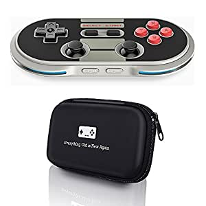 8Bitdo N30 Pro Controller with Bonus Carrying Case - for iOS/Android/Mac/PC