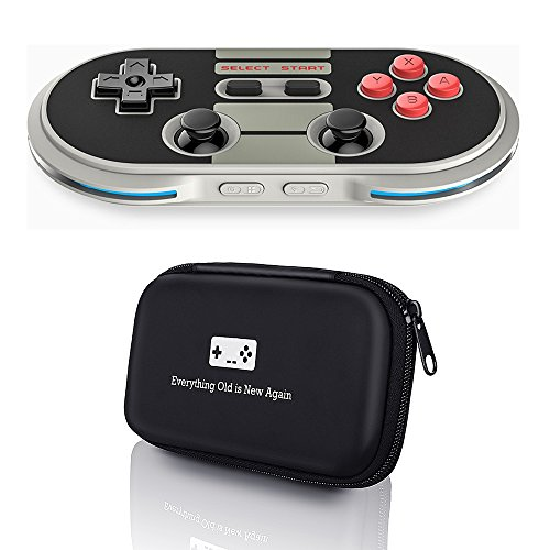8Bitdo N30 Pro Controller with Bonus Carrying Case – for iOS/Android/Mac/PC
